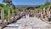 Kuretes (Curetes) Street at Ephesus (2/12)