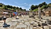 Kuretes (Curetes) Street at Ephesus (7/12)