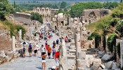 Kuretes (Curetes) Street at Ephesus (10/12)