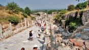 Kuretes (Curetes) Street at Ephesus (12/12)