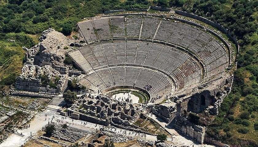 Great Theatre  Ephesus Tours & Excursions, Informations ...