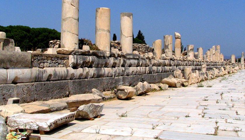 Marble Street, Marble Road, Ephesus, Turkey - Ephesus Guide