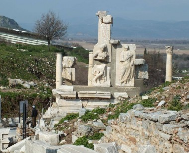Memmius Monument in Ancient City of Ephesus