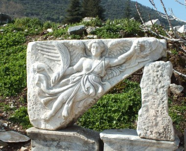Nike Sculpture in Ephesus