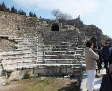 Ephesus Odeon Bouleuterion