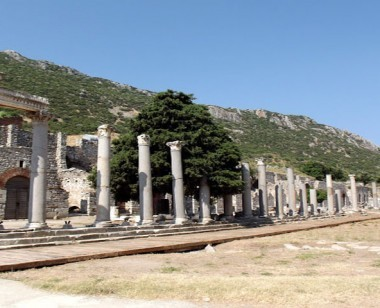 Stoa of Nero in Ephesus