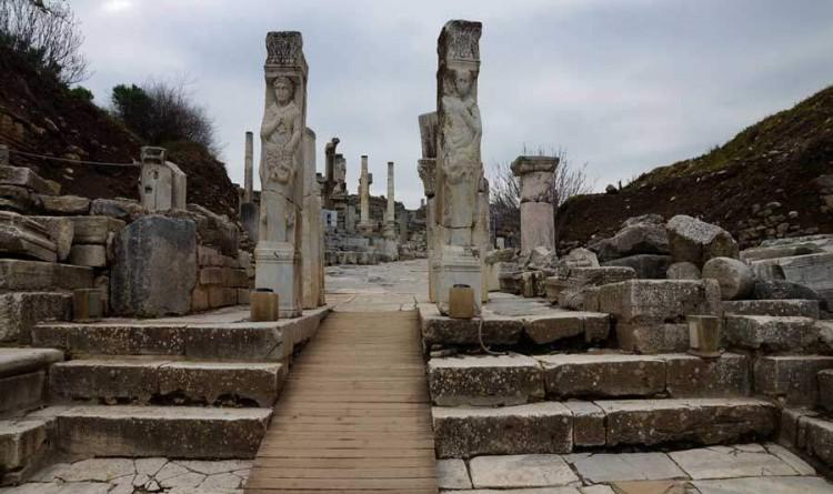 Hercules Gate at Ephesus Ancient City